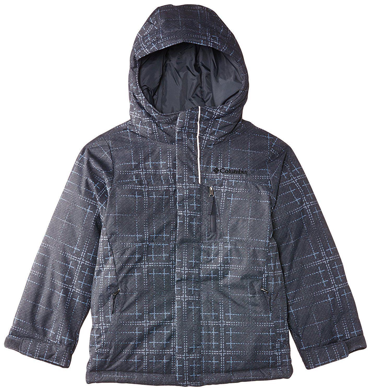 Columbia Kinder Jacke Alpine Free Fall Jacket Graphite Print Gr. M
