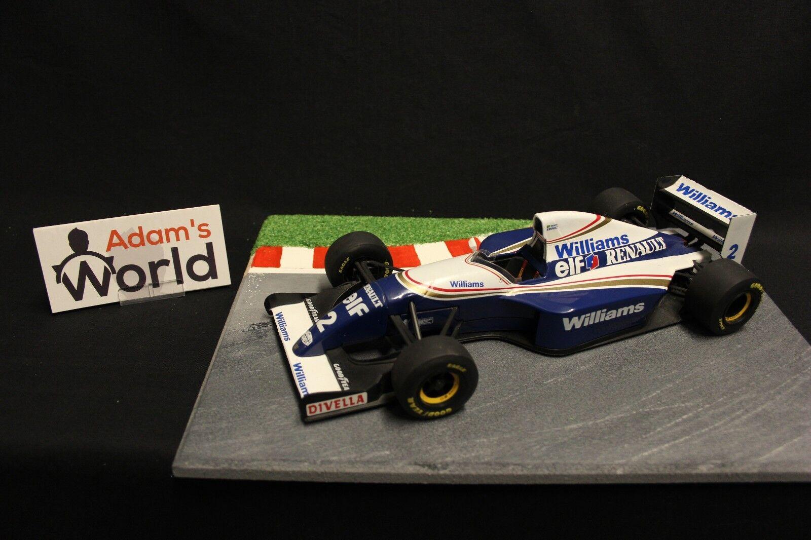 Minichamps Williams Renault show bil 1994 1 18 Ayrton Senna (BRA) (F1NB)