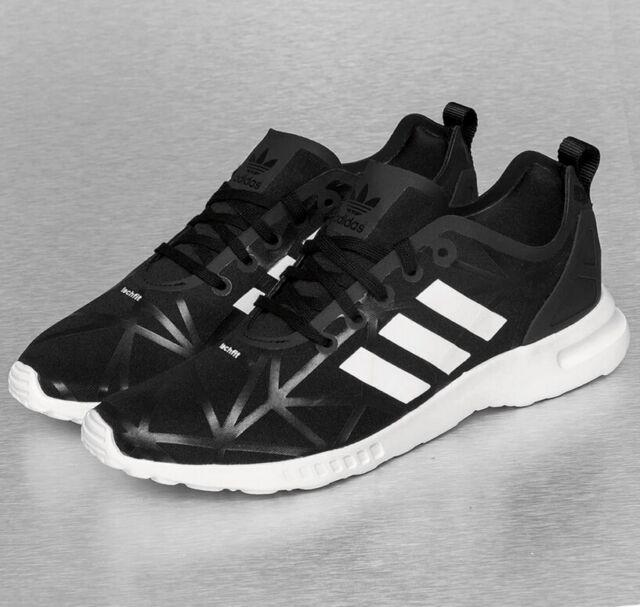 Damen 40 adidas ZX Flux Sneaker Smooth 221086 schwarz H2DI9E