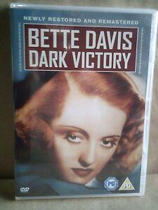 Dark-Victory-Bette-Davis-Humphrey-Bogart-UK-DVD-New-Sealed