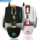 4000DPI 7D Buttons LED Optical Mechanical Wired Gaming Mouse Mice For PC Laptop