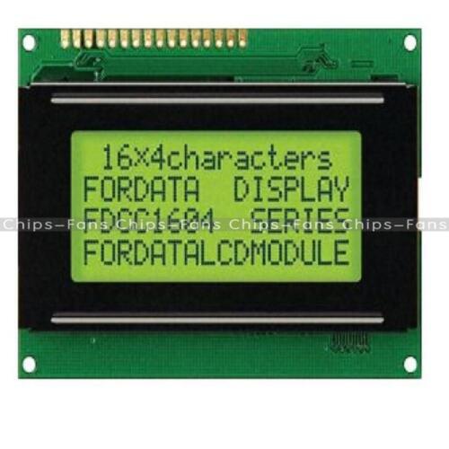 DC 5V LCD 16x4 1604 Character LCD Display Module LCM Yellow//Blue Blacklight CF
