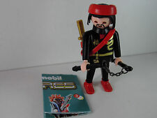 B3-Playmobil Figur- Figuren Serie 2 Boys , Ninja / Samurai