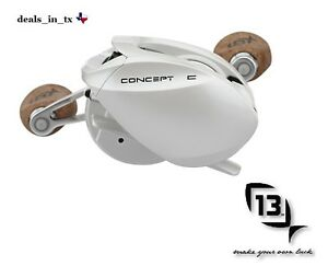 New 13 fishing concept c 7 3 1 right hand baitcast reel w for 13 fishing concept tx