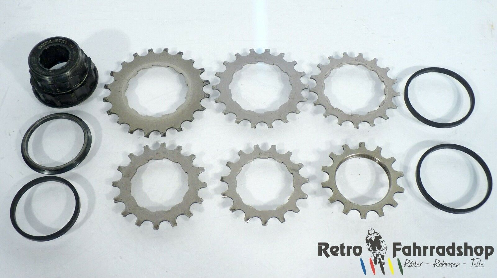 Cassettes, Freewheels & Cogs Bicycle Components & Parts Shimano Freeewheel Cog 6 Speed 14-28t Clear-Cut Texture