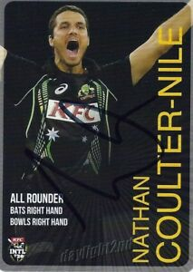 Signed-2014-2015-AUSTRALIAN-Cricket-Card-NATHAN-COULTER-NILE-Big-Bash-League