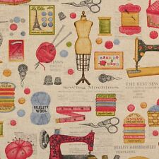 Genuine Singer Sewing Machine Fabric Panel Make Cushion Upholstery Craft Cotton