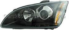 HELLA Ford Focus II 2 2004-2008  Xenon Black Headlight Front Lamp Right