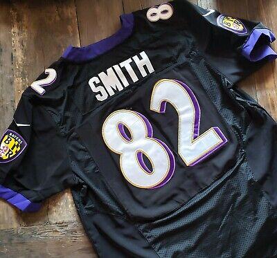 Nike NFL Torrey Smith #82 BALTIMORE RAVENS Large Game Jersey Black NWT Football | eBay
