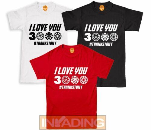 I love You 3000 Mens Kids T-Shirt Thanks Inspired Movies Boys Girls Tee Tshirt
