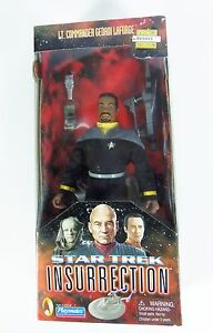 Star Trek insurrection Lt Commander Geordi La Forge