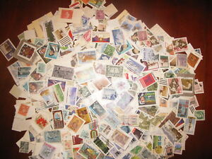 CANADA-USED-OFF-PAPER-4-OUNCES-118-GRAMS-BOX-LOT