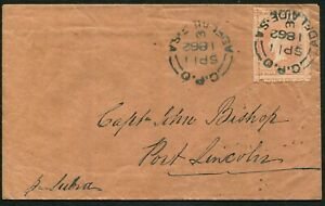 South-Australia-1862-Sep-11-cover-to-Port-Lincoln-with-oversized-example