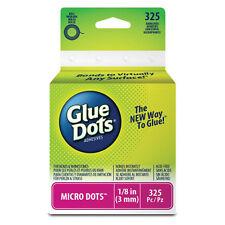 """Glue Dots Micro Dot Roll Adhesive 1/8"""" 325 dots"""