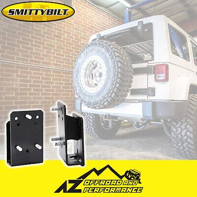 Smittybilt 3721 Tire Relocation Bracket for Jeep CJ//YJ//TJ//LJ//JK