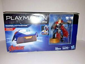 New-Open-Box-Playmation-Power-Activator-Thor-Avengers-Marvel-Hasbro-Disney