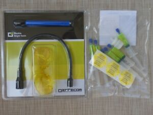 Lecksucher-Set-UV-Lampe-Schuzbrille-Kfz-Klimaanlage-R134a-R12-R1234yf