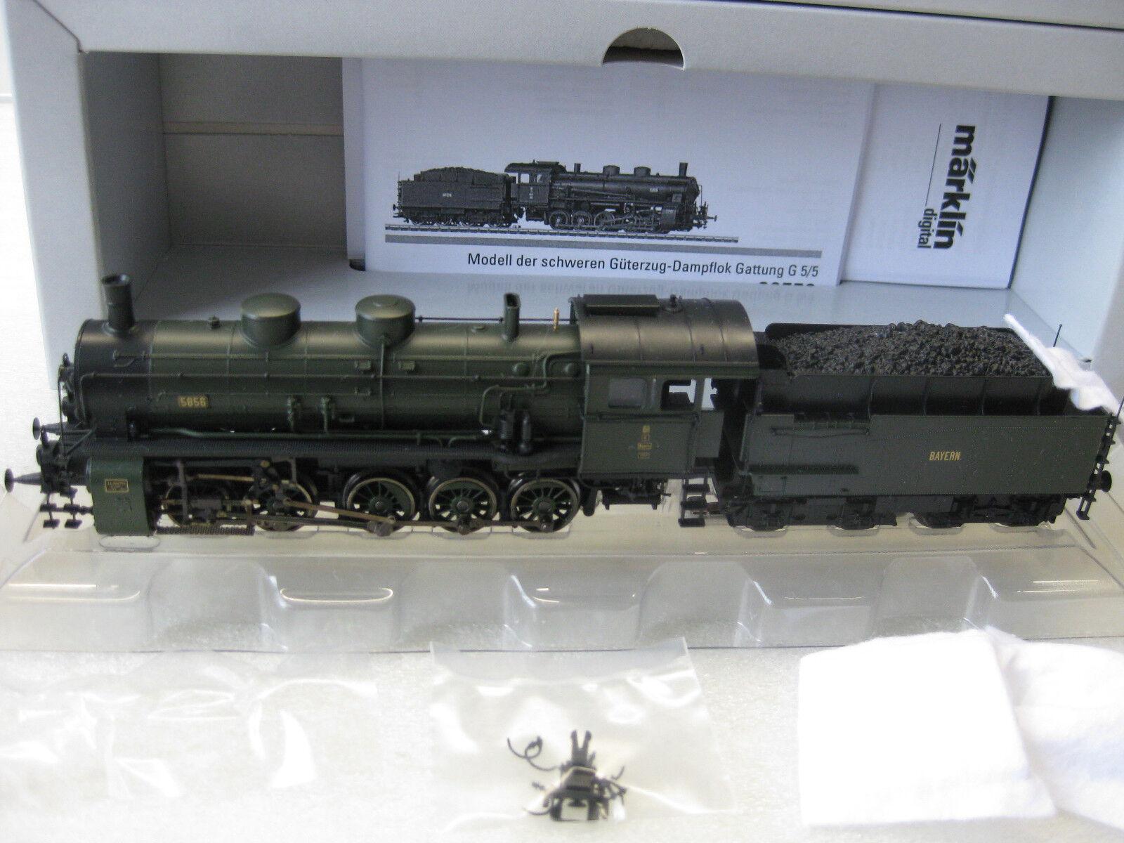 39550 locomotiva BR g5/5 K. BAY. ST. B. MFX SOUND NUOVO