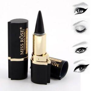 MISS-Rose-Gel-Delineador-De-Ojos-Negro-Lapicera-Lapiz-Delineador-De-Ojos-Belleza-Maquillaje