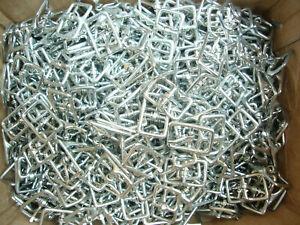 """Drahtschnallen für Trensen Flat Whole Harness Buckle 100 Stück Größe: 12 mm 1/2"""""""