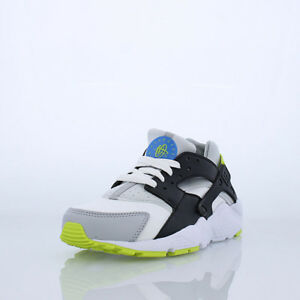 size 40 43c39 c043b Image is loading NIKE-HUARACHE-RUN-GS-GRADE-SCHOOL-WHITE-PHOTO-