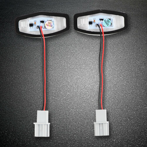 2x LED License Plate Light Lamp For Acura TL TSX MDX Honda Civic Accord Odyssey