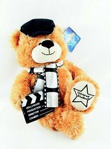 UNIVERSAL-STUDIOS-TEDDY-BEAR-Plush-HOLLYWOOD-MOVIE-DIRECTOR-FILM-STAR-NEW-Large