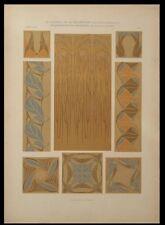 ORNEMENTATION MODERNE, MAURICE DUFRENE -1905- LITHOGRAPHIE, ART NOUVEAU