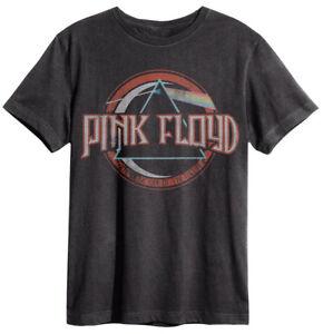 Amplified - Pink Floyd On the Run Herren T-Shirt (Grau) (S-XL)