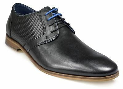 Paul O'donnell Mens Lace Up Formal Shoe - Atlanta In Black In Size Uk6 To Uk15