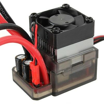 320A High Voltage ESC Brushed Speed Controller Brake fan for RC Car Truck Boat F