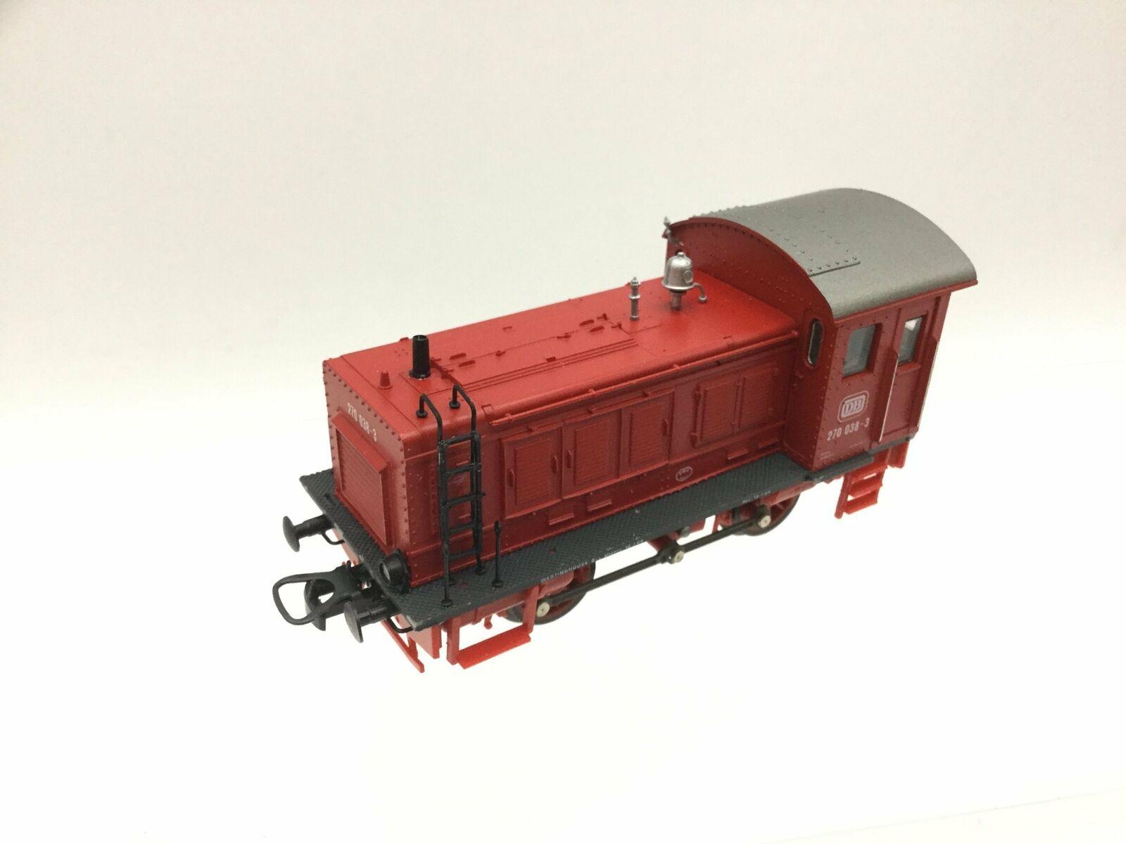 Lima 208140 HO Gauge DB Red Diesel Shunter 270 038-3