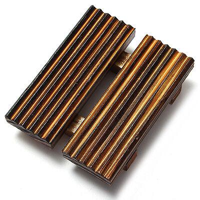 Natural Wood Wooden Soap Dish Storage Tray Holder Bath Shower Plate Bathroom DIY