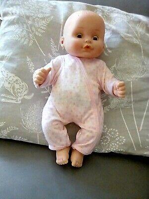 Cititoy C 1996 Bambino Bambola Occhi Azzurri Bella Faccia Vestiti Circa 30cm Molto Buono-mostra Il Titolo Originale