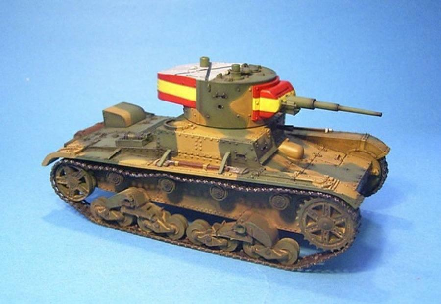 JOHN JENKINS SPANISH CIVIL WAR COND-03 T-26 LIGHT TANK SET MIB