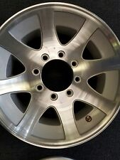 17.5 x 6.75 ALUMINUM  MOD TRAILER  RV WHEEL 8X6.5  LUG  130 PSI 4850 LB   LOW $