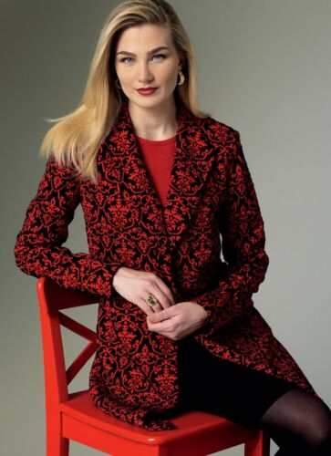 Very Easy Vogue SEWING PATTERN V9133 Misses Jacket XS-M Or L-XXL