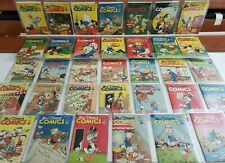 Walt Disney's Comics #60 93 All 10c Golden Age Full Run Lot Donald Duck