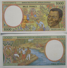 CENTRAL AFRICAN STATES (CONGO) 1000 (L) Francs 2000 UNC (B12)