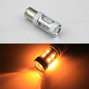 2x birnen bau15s py21w led 12 5630 smd blinker lampe 11w gelb orange amber 12v ebay. Black Bedroom Furniture Sets. Home Design Ideas