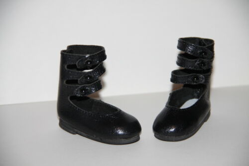 Jasmines Cottage Olivia Black Leather BJD Doll Shoe MSD 63mm fits Wiggs /& Lasher
