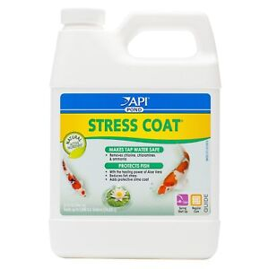 Knowledgeable Api Pond Stress Coat Pond Water Conditioner 32-ounce Bottle Packing Of Nominated Brand Cleaning & Maintenance