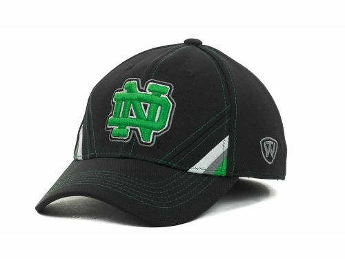 Notre Dame Fighting Irish Tow Pace TC NCAA Team Logo Stretch Fit Cap Hat  OSFM