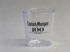 CAPTAIN MORGAN RUM 100 PROOF BAR SHOT GLASS man cave shooter NEW
