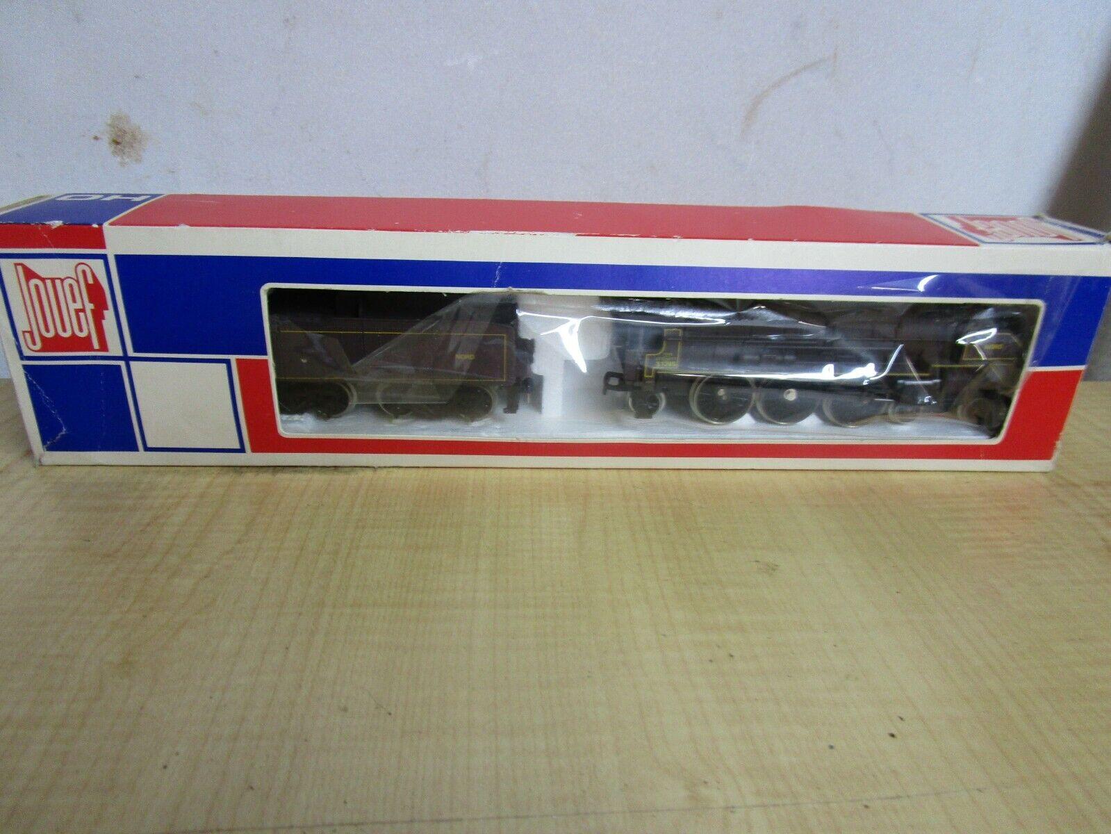 ESTATE FIND    Jouef  Ho 8252 Lokomotive  e TENDER WITH ORIGINAL scatola 080f59