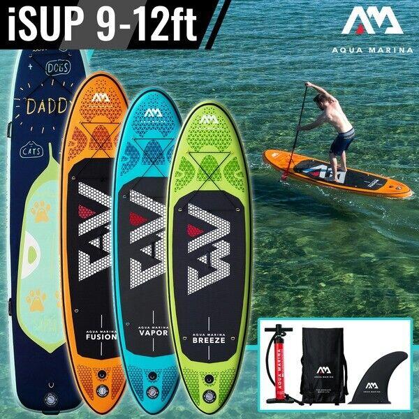 Aqua Marina ISUP SUP inflables Stand Up Paddle Board - 4 Modelos Diferentes