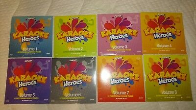 25 Tracks Zoom Karaoke Heroes Vol 4 Zhr004 Cd+g Cliff Richard Karaoke Cdg