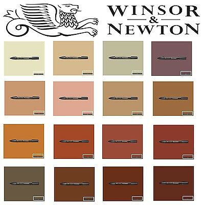 Winsor /& Newton Promarkers plumas Tierra Marrón marcadores arte dibujo Letraset estudiante