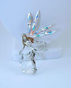 Kirks-Folly-Queen-Delphine-Fairy-Pin-SF-Winter-Christmas