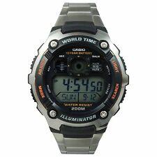 Casio AE-2000WD-1A Men's Plane Style Multi Function Digital Watch w/ World Time